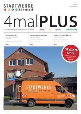 4malPlus aktuelle Ausgabe 1/2020