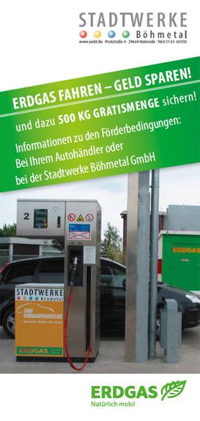 Förderantrag Erdgas-Fahrzeug